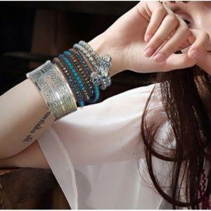 New! Women's Vintage Bohemian Cuff Bracelet